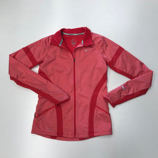 Primary Photo - BRAND: NIKE STYLE: ATHLETIC JACKET COLOR: CORAL SIZE: S SKU: 180-18071-3163