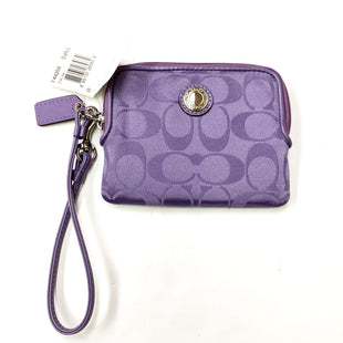 Primary Photo - BRAND: COACH STYLE: COIN PURSE COLOR: PURPLE SIZE: MEDIUM SKU: 180-18083-20919