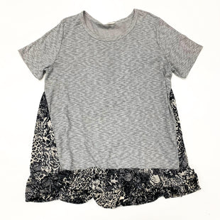 Primary Photo - BRAND: ODDI STYLE: TOP SHORT SLEEVE COLOR: GREY SIZE: 2X SKU: 180-18038-105338
