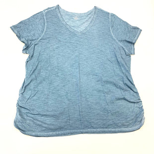 Primary Photo - BRAND: LANE BRYANT STYLE: TOP SHORT SLEEVE BASIC COLOR: BLUE SIZE: 3X OTHER INFO: (26/28) SKU: 180-18071-11457