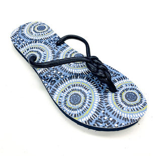 Primary Photo - BRAND: VERA BRADLEY O STYLE: FLIP FLOPS COLOR: NAVY SIZE: 8 SKU: 180-18057-13594