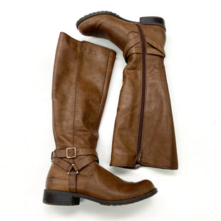 Primary Photo - BRAND: STYLE AND COMPANY STYLE: BOOTS KNEE COLOR: BROWN SIZE: 6 SKU: 180-18083-25416