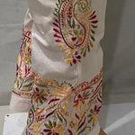 White Chikan Embroidered Kurtis New Women Salwar Suit