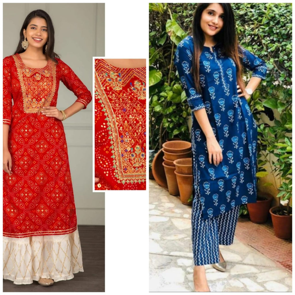Buy Any Combo Kurtis Online Latest Indian Fashion