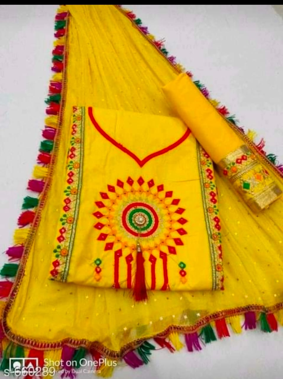 Yellow   Exclusive Designer Salwar Suit
