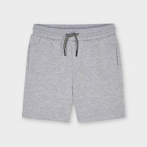 Mayoral Basic Fleece Shorts - Smoke
