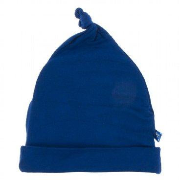 Kickee Pants Classic Knot Hat - Flag Blue