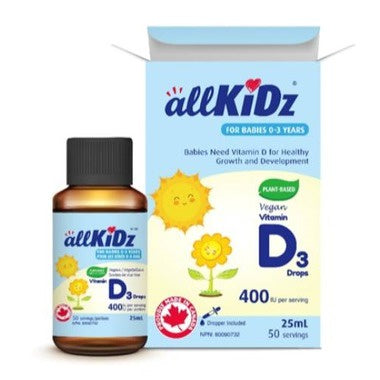 All Kidz-Vit D 0-3 years