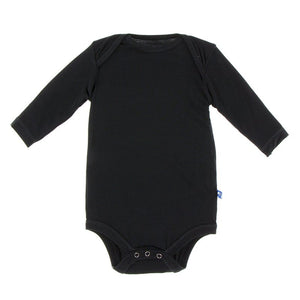 Kickee Pants- Long Sleeve One Piece- Midnight
