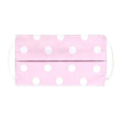 Kushies Kids Face Mask Pink dots