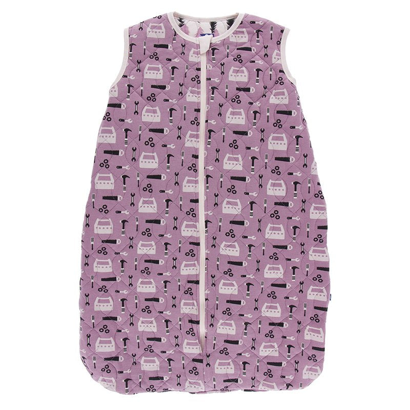 Kickee Pants Print Quilted Sleeping Bag - Pegasus Construction