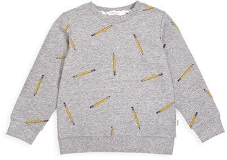 Miles Baby- Pencil Sweater- Grey