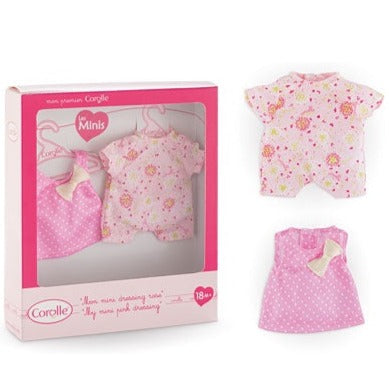 Corolle-My Mini Pink Dressing Set