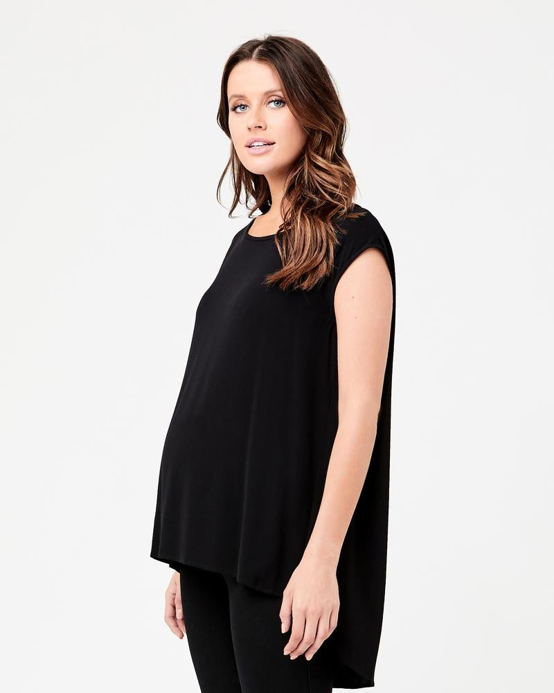 Ripe Maternity- Carrie Top- Black