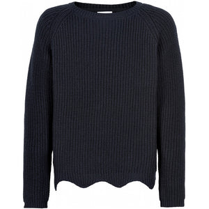 The New- Olly Knit Sweater- Navy