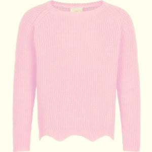 The New- Olly Knit Sweater- Pink