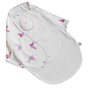 Nested Bean-Zen Swaddle-Premier-Blushing Butterflies (0-6 months)