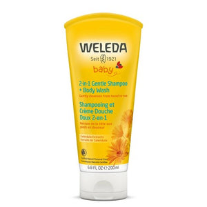 Weleda-2 in 1 Gentle Shampoo + Body Wash 200 ml