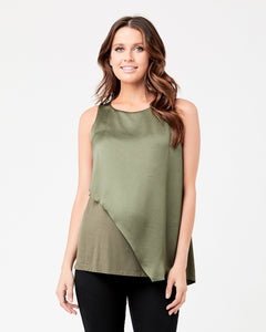 Ripe Maternity- Asymetmetric Nursing Top