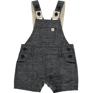 Me & Henry - Black Woven Dungarees
