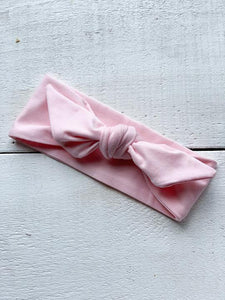 Mini Bretzel Premium Soft Pink Headband