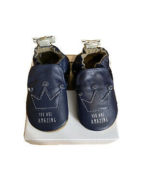 Robeez - Shoes - You Are Amazing - Navy