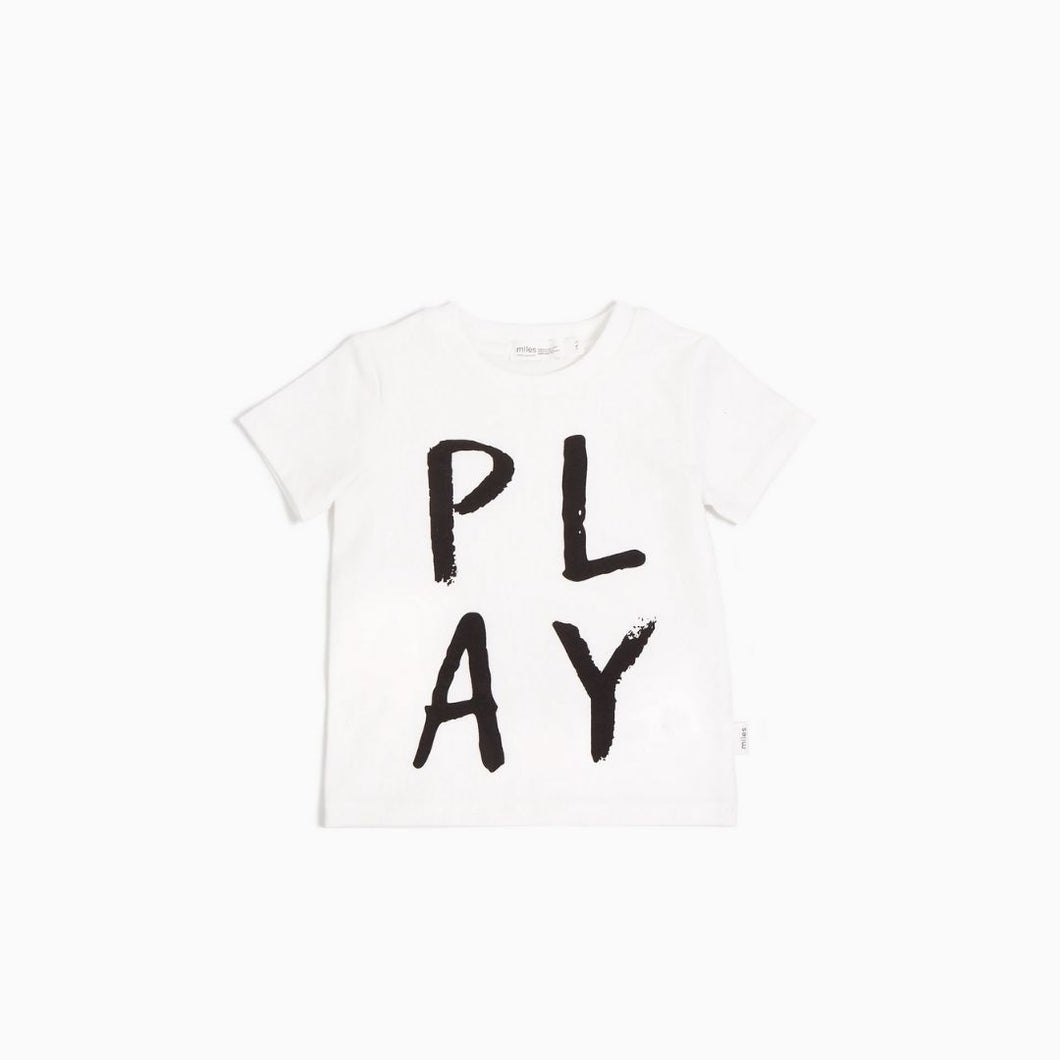 Miles Baby - Play T-Shirt Knit - Off White