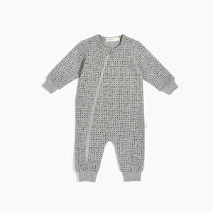 Miles Baby - Playsuit Knit - Splashed Grey