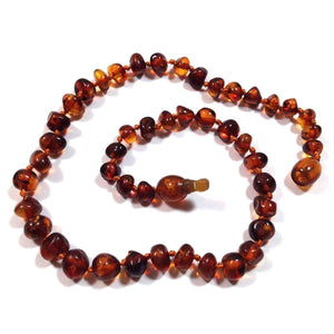 Healing Hazel - Baltic Amber - 11 inch - Dark Brown