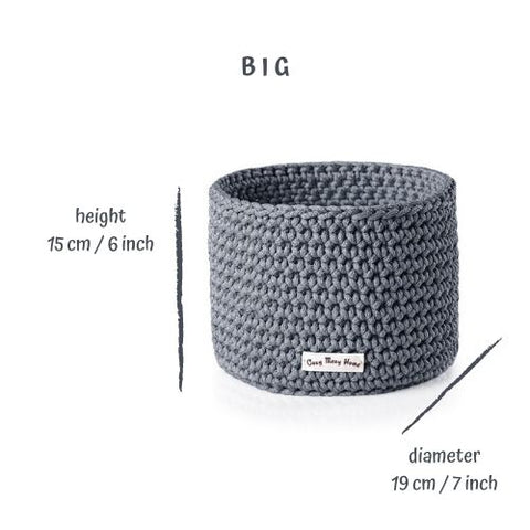 Big BASKET / GRAY Dark
