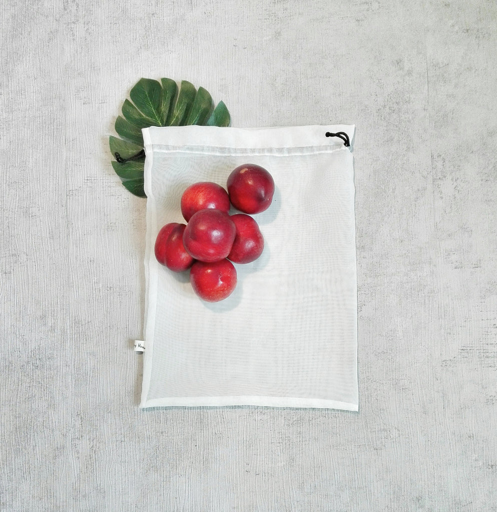 Medium Reusable Bag For Fruits and Vegetables, Zero Waste Shopping Bags, Storage Bags