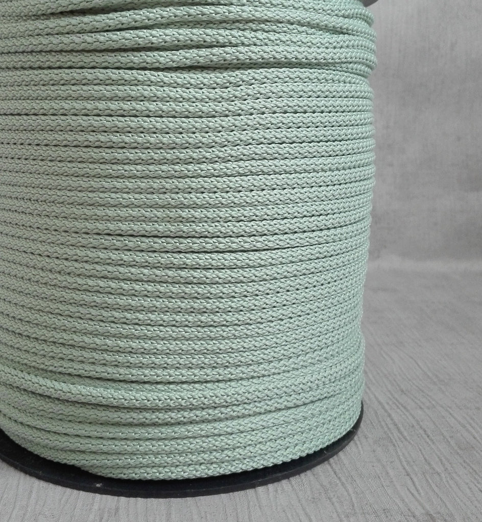 GREEN ASH Crochet Rope, Macrame Cord, Polyester Rope for DIY Projects, Home Decoration