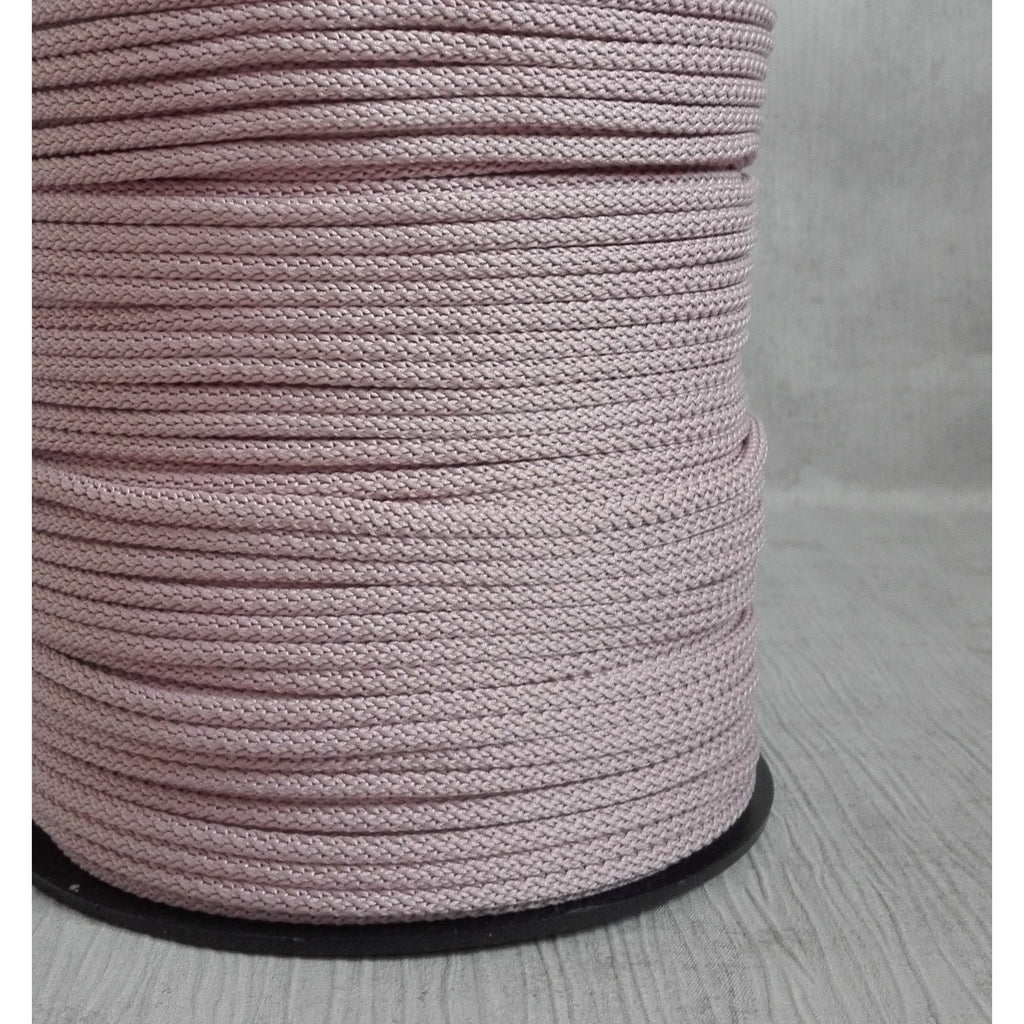 BLUSH PINK Crochet Rope, Macrame Cord, Polyester Rope for DIY Projects, Home Decoration