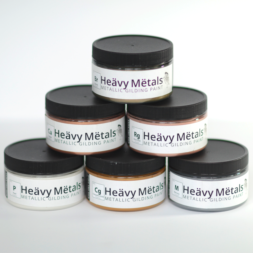 Wise Owl Heavy Metals - 4oz. Collection (6)