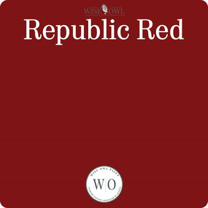 Wise Owl Chalk Synthesis Paint - Republic Red