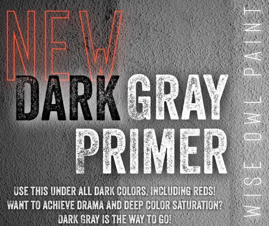 Wise Owl Stain Eliminating Primer - Dark Gray