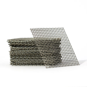 5cm x 5cm Stainless Steel Mesh - Pack of 5