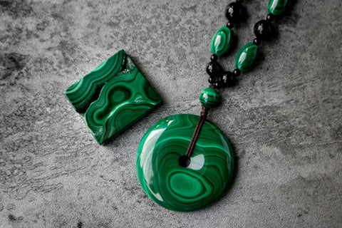 Crystal Library - Malachite
