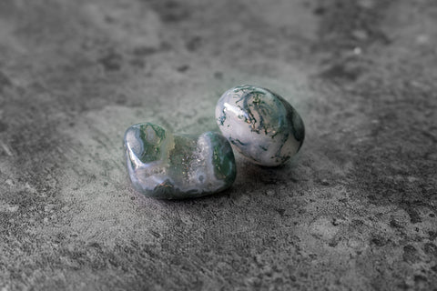 Crystal Library - Moss Agate