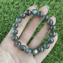 Load and play video in Gallery viewer, Labradorite 10mm Bracelet