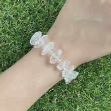 Load and play video in Gallery viewer, Herkimer Diamond Bracelet