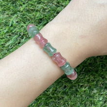 Load and play video in Gallery viewer, [Special Price!] Duo Strawberry Quartz Bracelet