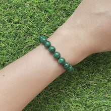 Load and play video in Gallery viewer, Malachite 8mm Bracelet