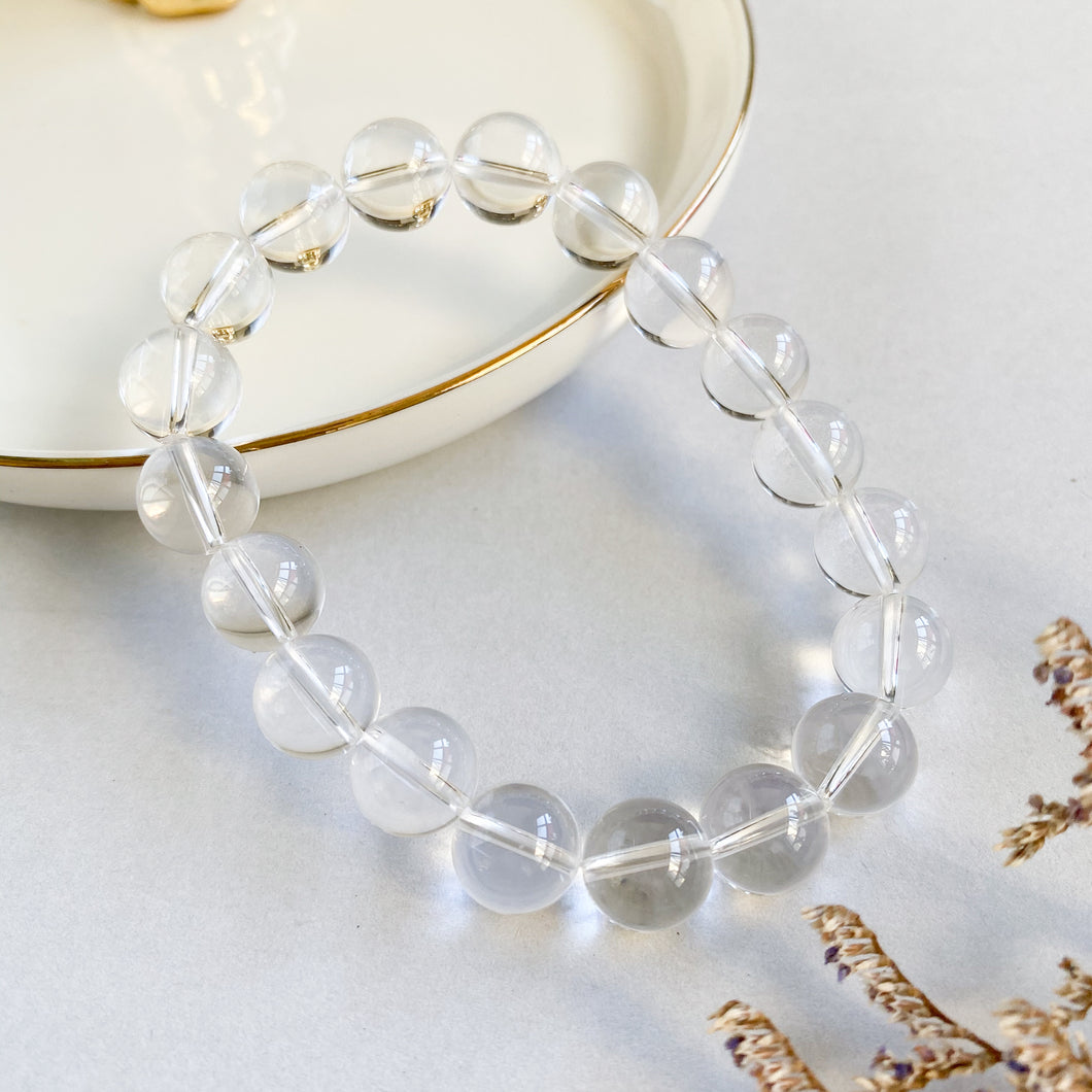Clear Quartz 10mm Bracelet