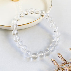 Clear Quartz 8mm Bracelet