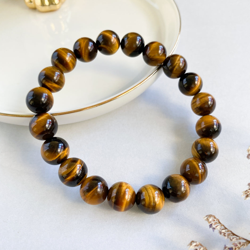 Yellow Tiger's Eye 10mm Bracelet