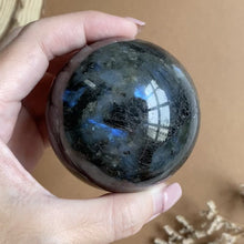Load and play video in Gallery viewer, Labradorite Sphere