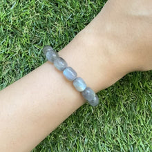 Load and play video in Gallery viewer, Labradorite Canister Bracelet