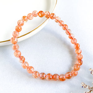 Golden Sunstone 6mm Bracelet