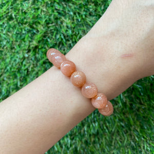 [Special Price!] Sunstone 10mm Bracelet